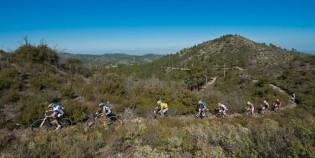 LeadingGroup_Singletrail_sideview_landscape_giger_fumic_kulhavy_lindgren_marotte_acrossthecountry_mountainbike_xco_by-Kuestenbrueck.