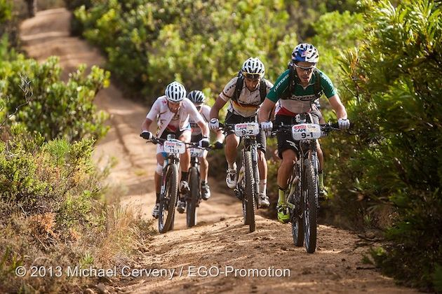 130323_RSA_CapeTown_CapeEpic_Stage6_Fontana_Fumic_uphill_bushes_acrossthecountry_mountainbike_xco_by_Cerveny
