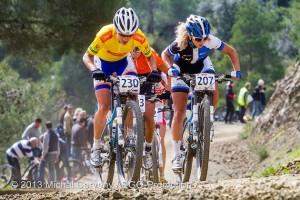 Marianne Vos_Jolanda Neff_uphill_CSC13_Afxentia_acrossthecountry_mountainbike_xco_by Cerveny