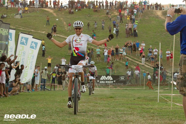 Sauser-winning_Kayamandi-Champions-race_SONGO_Day_acrossthecountry_mountainbike_xco_by-Greg-Beadle