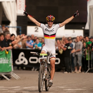 120429_GER_Heubach_XC_Men_Milatz_winning_acrossthecountry_mountainbike_xco_by_Kuestenbrueck