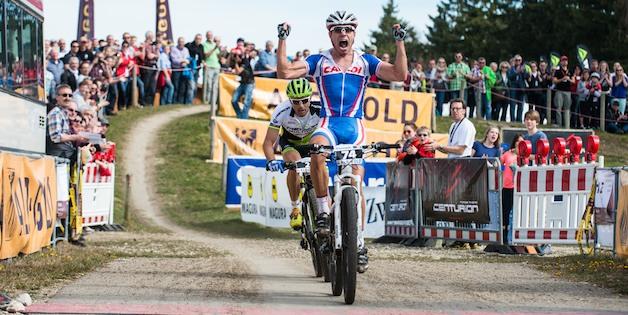 130414_GER_Muensingen_XC_Men_Avancini_finish_acrossthecountry_mountainbike_by_Maasewerd.