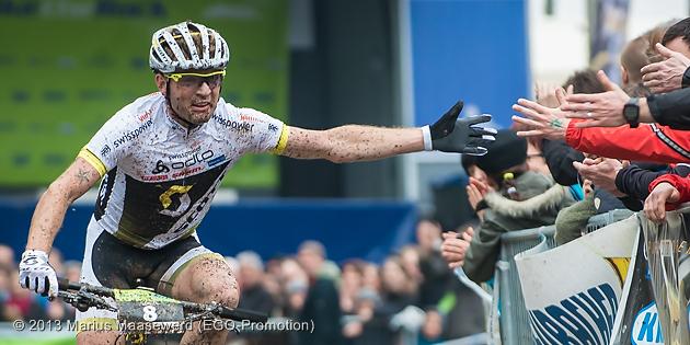 Florian Vogel: Nach dem 3. Platz beim BiketheRock gehört er auch in Haiming zu den Favoriten. ©Marius Maasewerd/EGO-Promotion