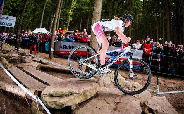 130526_CZE_NoveMesto_XC_Women_Lechner_rocknrol_flashed_acrossthecountry_mountainbike_by_Maasewerd