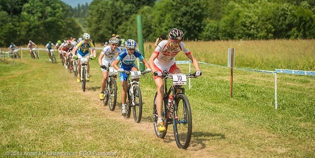 130615_ITA_ValDiSole_XC_Women_Leumann_startloop_acrossthecountry_mountainbike_by_Kuestenbrueck