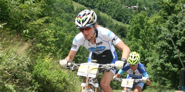 Catharine Pendrel_close_Windham_acrossthecountry_mountainbike_by Goller