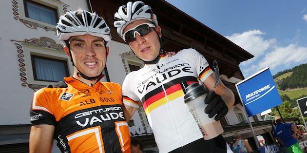 Winning_duo_Jochen_Kaess_Markus_Kaufmann_portrait_acrossthecountry_mountainbike_by Henning Angerer