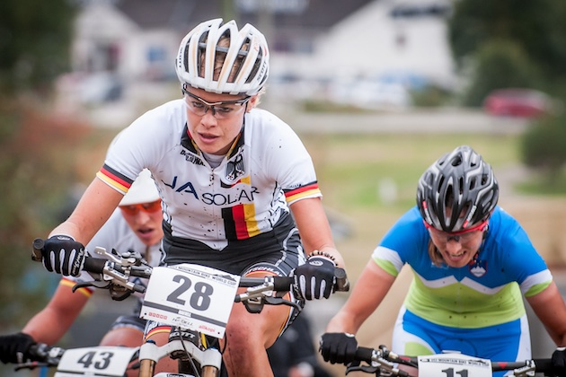 130914_NOR_Hafjell_XC_Women_Klein_uphill_acrossthecountry_mountainbike_by_Moeller