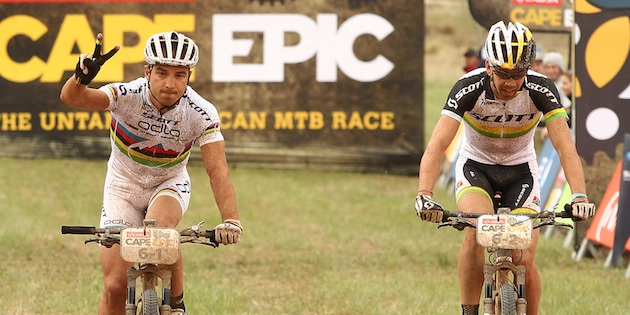 Schurter_Buys_capeepic_finish_acrossthecountry_mountainbike_by Shaun Roy_Sportzpics