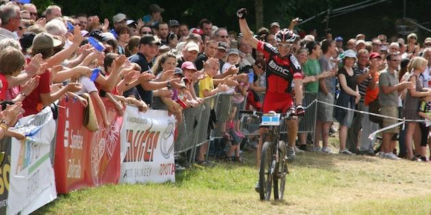 Albstadt 2011: Moritz Milatz holt den Deutschen Meistertitel. ©Arno Fuhrmann