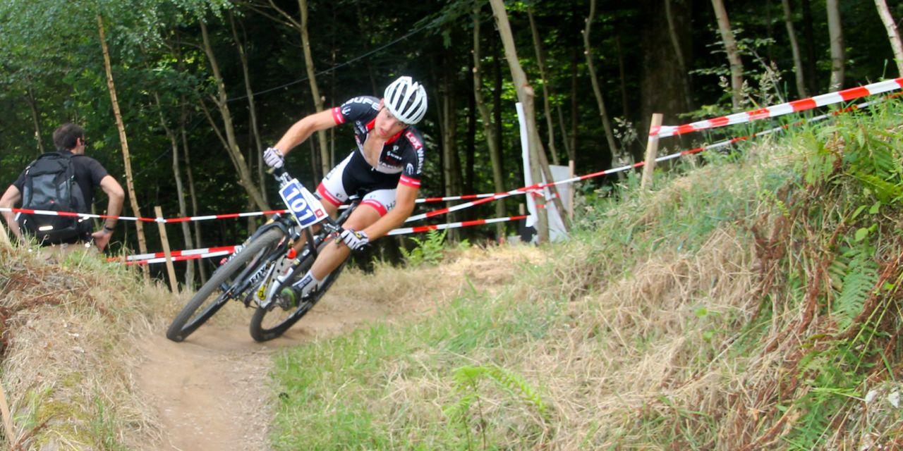 Luca-Schwarzbauer_corner_Nachwuchs-DM14-Hausach_Junioren_accrossthecountry_mountainbike_by Goller