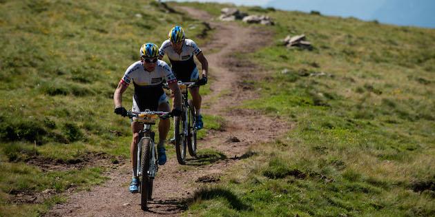 Urs Huber und Karl Platt ©Robert Niedring / Craft Bike Transalp
