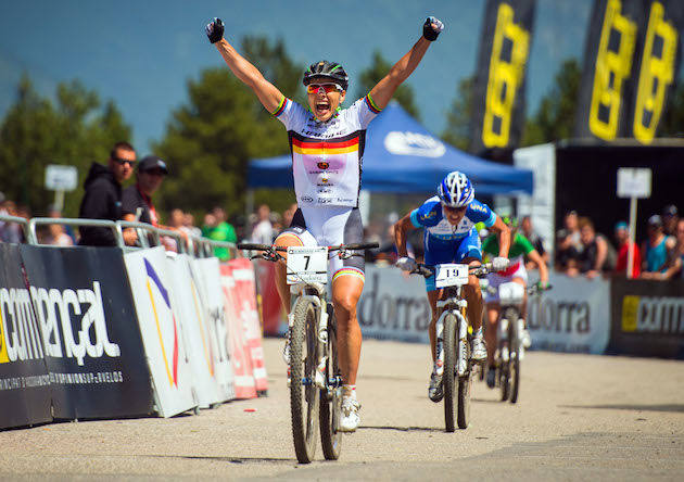 130727_AND_Vallnord_XC_Women_Spitz_finish_acrossthecountry_mountainbike_by_Kuestenbrueck