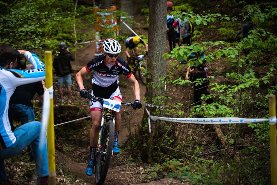 Max Brandl_woods_Wombach_acrossthecountry_mountainbike_by Lynn Sigel
