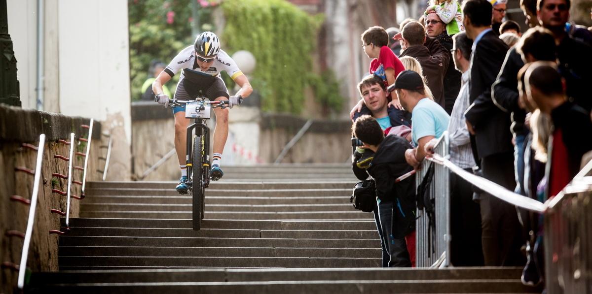Simon Stiebjahn_prag stairs_acrossthecountry_mountainbike_by Cerveny