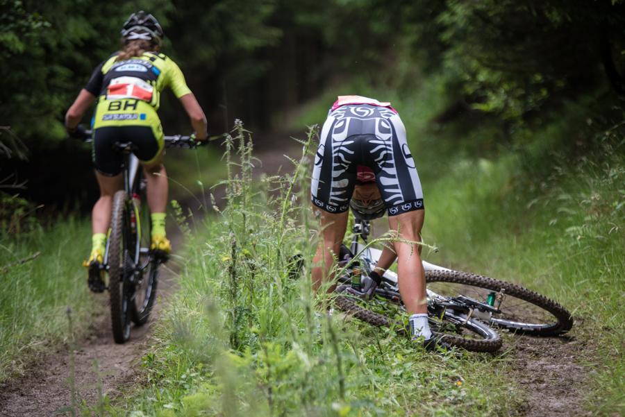 Sabine Spitz musste wegen zwei Defekten passen. Foto: Lynn Sigel