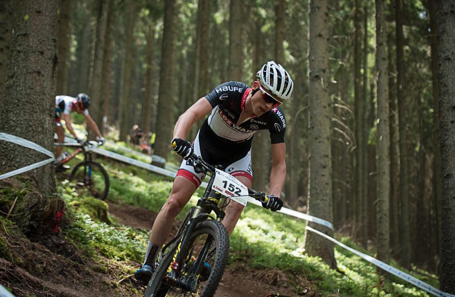 Trotz Plattfuß konnte Christian Pfäffle mit dem dritten Rang nach Hause fahren. Foto: Lynn Sigel