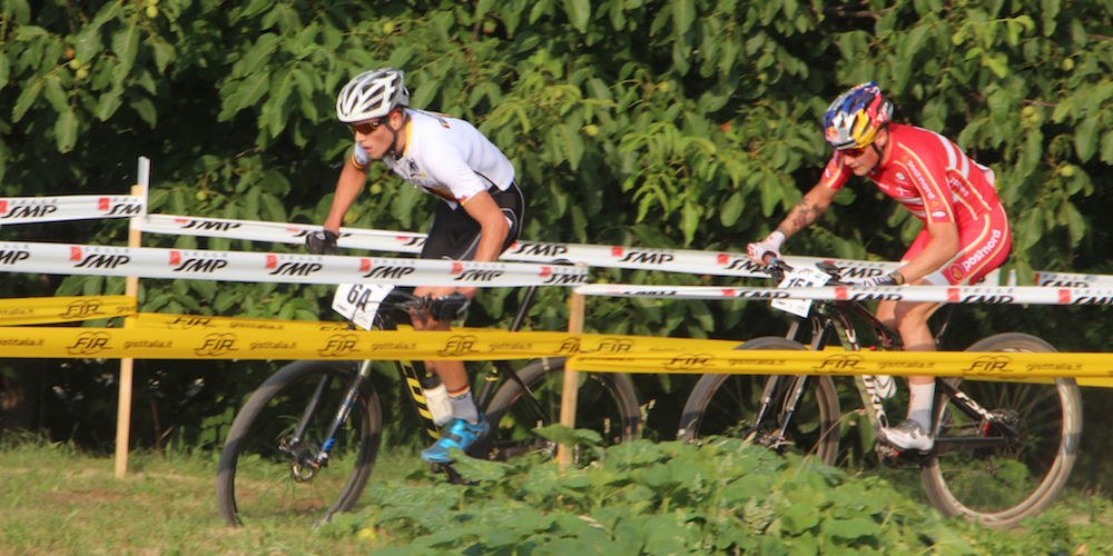 Brandl_Andreassen_EM15_ChiesdAlpago_TeamRelay_acrossthecountry_mountainbike_by Golle