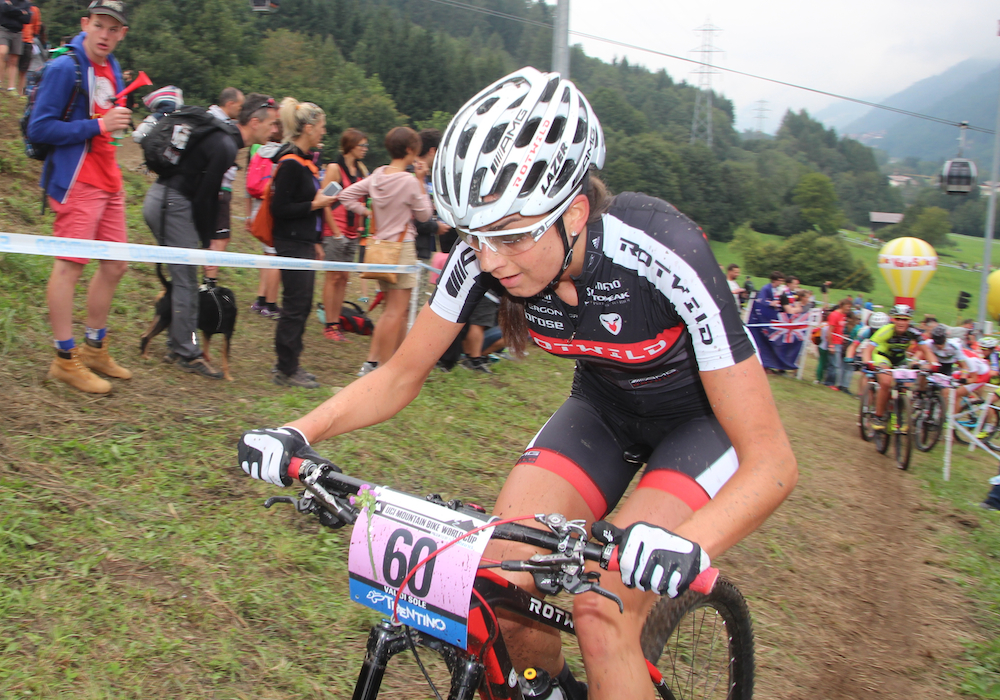 Nadine Rieder_acrossthecountry_mountainbike_WC15_ValdiSole_Damen_by Goller