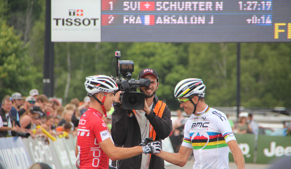 Schurter_Absalon_finish_acrossthecountry_mountainbike_WC15_MSA_Herren_by Goller