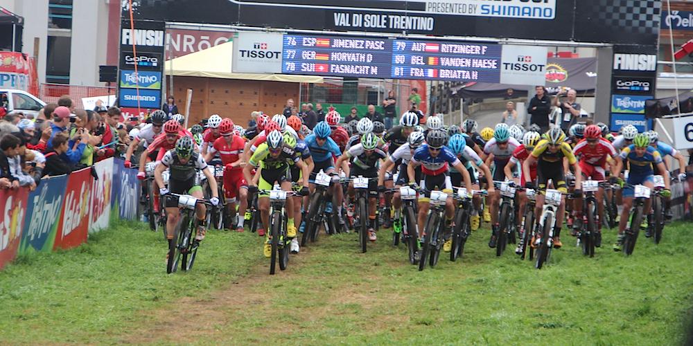 Start_Gaze laufend_WC15_ValdiSole_U23Herren_acrossthecountry_mountainbike_by Goller - 63