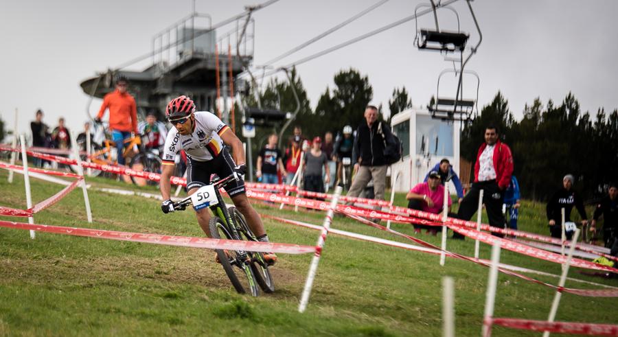 Manuel Fumic sicherte den fünften Platz. Foto: Lynn Sigel