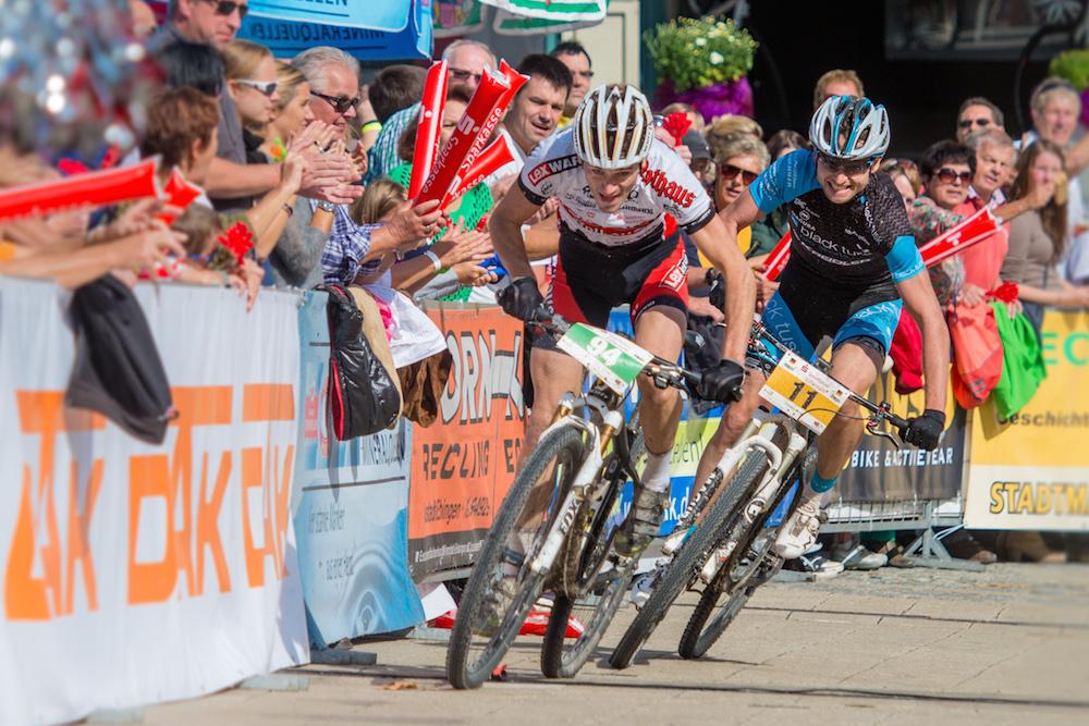 130922_GER_TransZollernalb_Stage3_Albstadt-Hechingen_Bauer_Marx_sprinting_1_by_Kuestenbrueck
