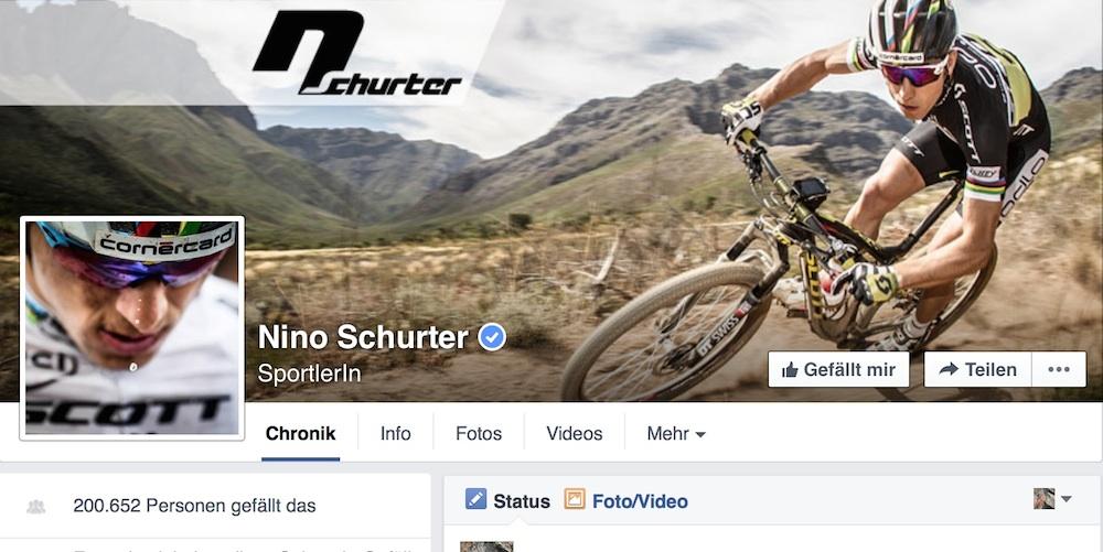 Nino Schurter_Facebook_Page_Bildschirmfoto