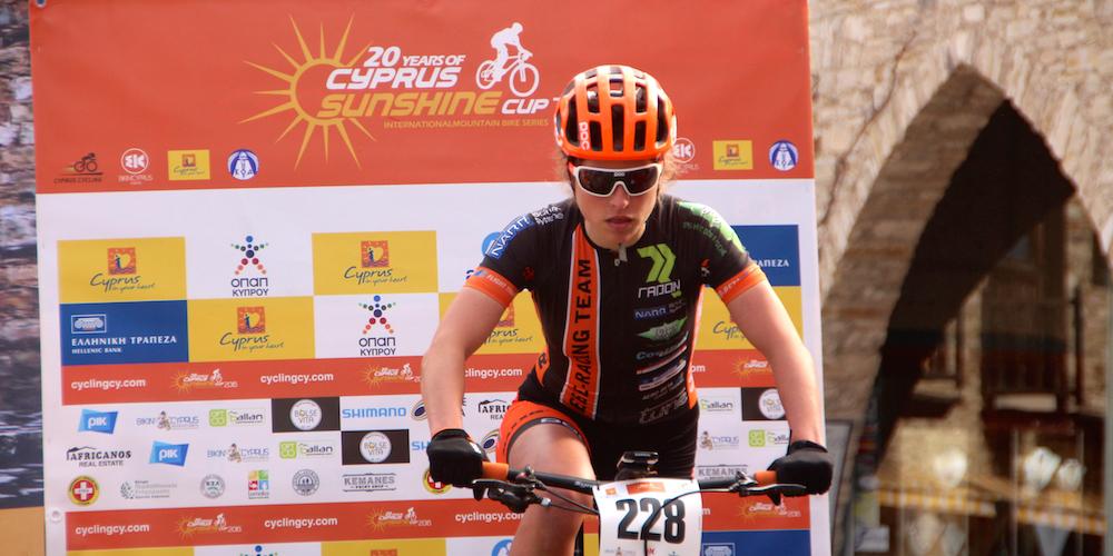 Elisabeth Brandau_start_CSC16_Afxentia_Etappe1_by Goller