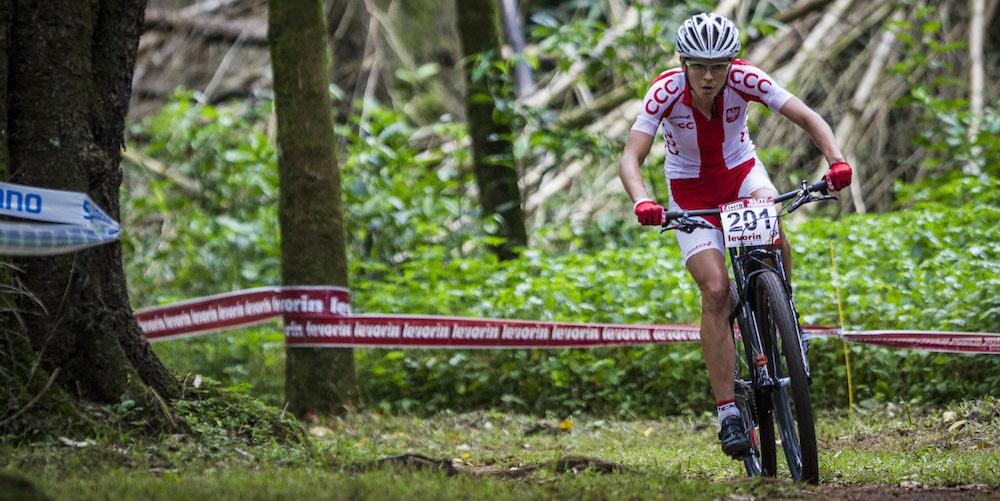 Maja Wloszczowska startet mit einem Sieg in die olympische Saison ©Fabio Piva