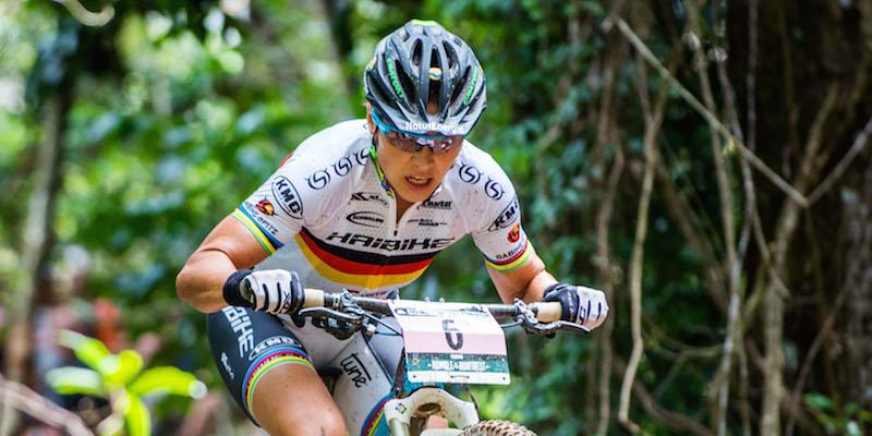 Sabine Spitz verfehlte vor zwei Jahren nur wegen Defekt ihr 22. Weltcup-Podest (Top 3). ©Marius Maasewerd/EGO-Promotion