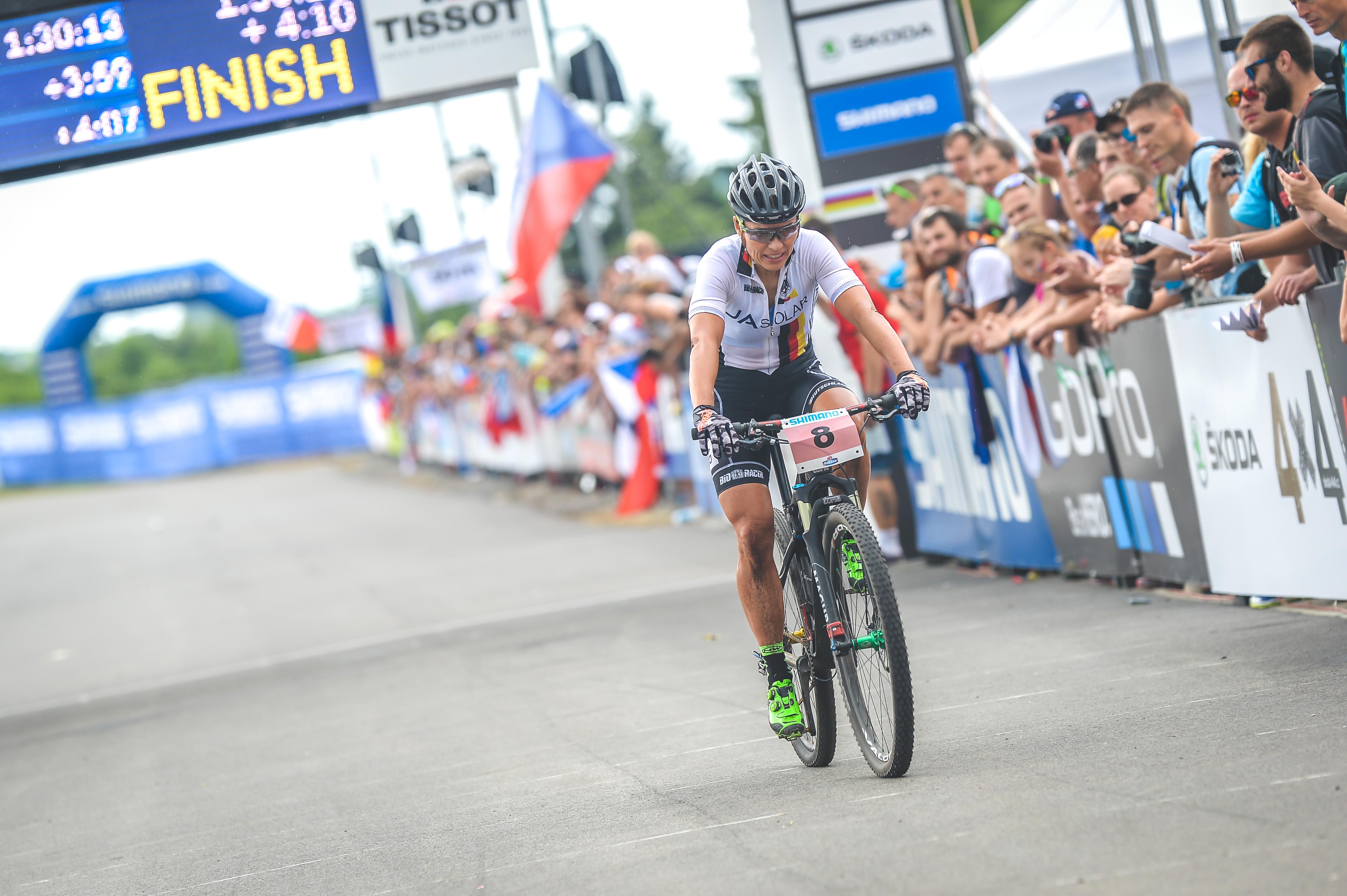 Sabine Spitz_NoveMesto_finish_by Traian Olinici