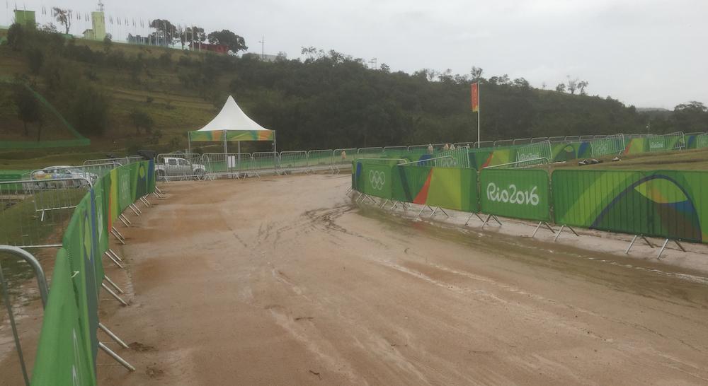 Rio Olympia-Strecke_Regen