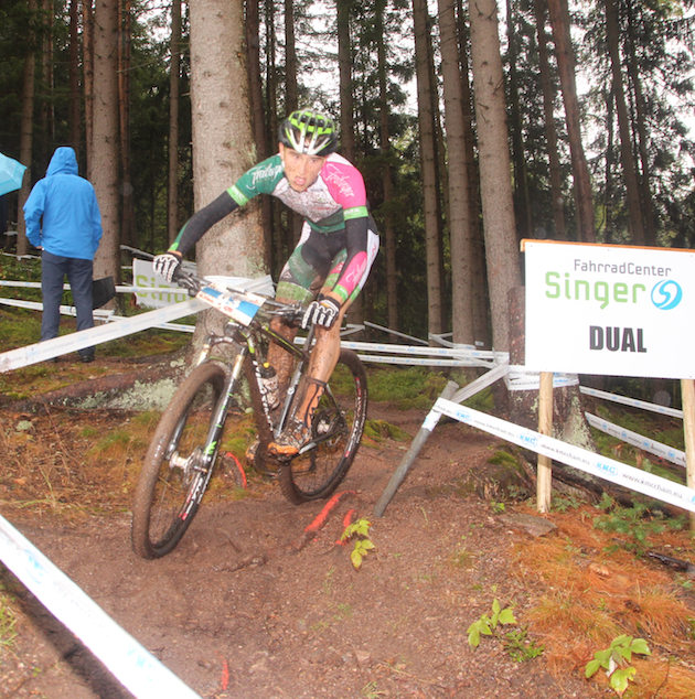 Vincent Dorn_Titisee-Neustadt_XCO_u19_men_Start_by Goller