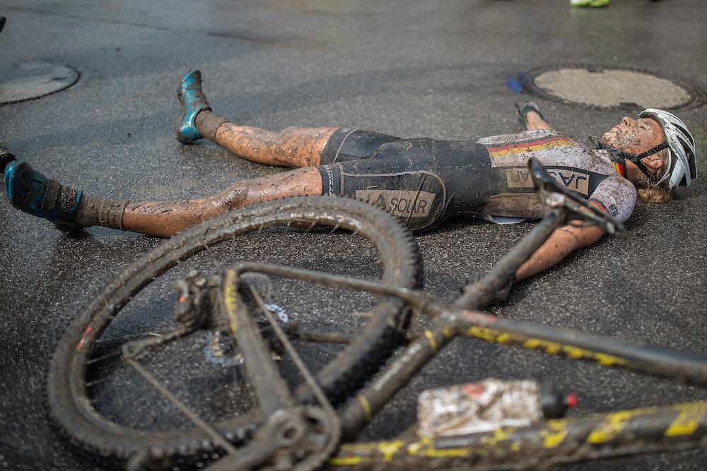 Erledigt. Nicht Anna Saier, aber deren Leistungssport-Karriere ©Maxime Schmid/EGO-Promotion