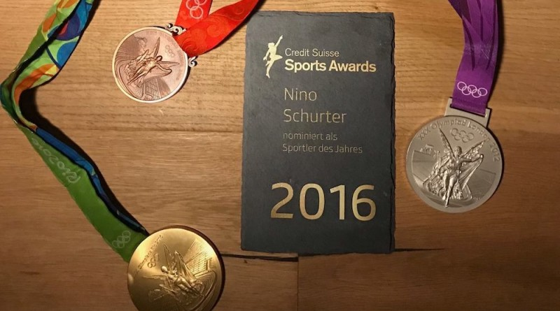Nino Schurter_Medaillen_Swiss Sports Awards_by Nino Schurte