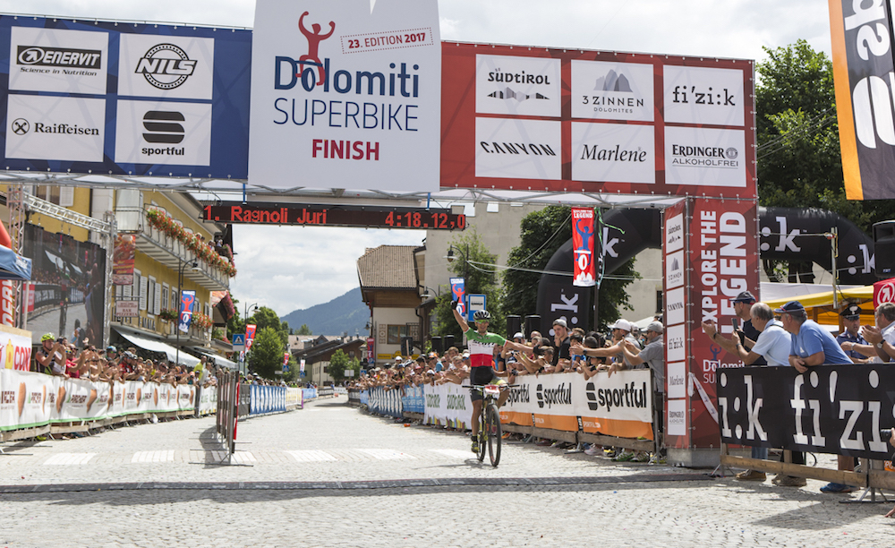 Sieger beim 23. Dolomiti Superbike: Juri Ragnoli ©Benedikt Trojer